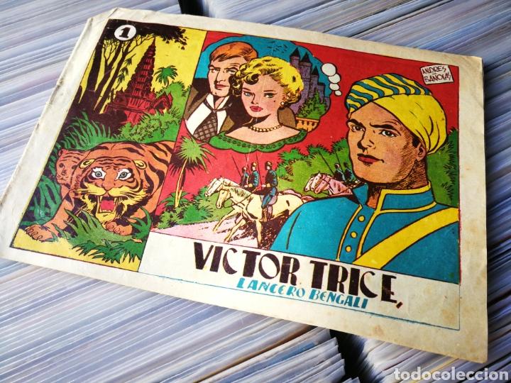 VÍCTOR TRICE- LANCERO BENGALÍ, N°1. EDITORIAL GRAFIDEA. DIFÍCIL!!! (Tebeos y Comics - Grafidea - Otros)