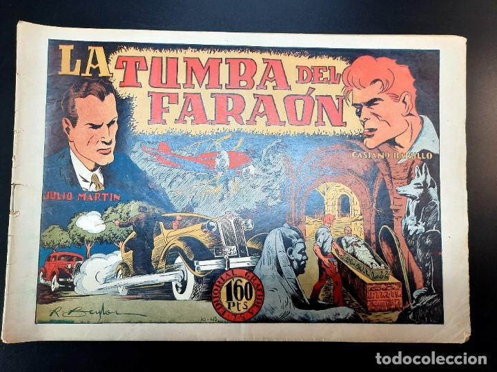 CASIANO BARULLO (1944, GRAFIDEA) 10 · 1944 · LA TUMBA DEL FARAÓN (Tebeos y Comics - Grafidea - Otros)