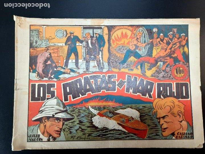 CASIANO BARULLO (1944, GRAFIDEA) 6 · 1944 · LOS PIRATAS DEL MAR ROJO (Tebeos y Comics - Grafidea - Otros)