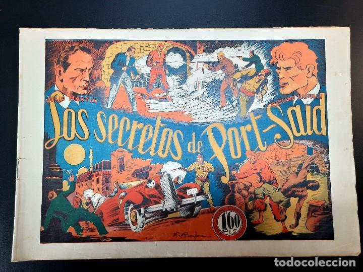 CASIANO BARULLO (1944, GRAFIDEA) 9 · 1944 · LOS SECRETOS DE PORT-SAID (Tebeos y Comics - Grafidea - Otros)