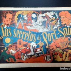 BDs: CASIANO BARULLO (1944, GRAFIDEA) 9 · 1944 · LOS SECRETOS DE PORT-SAID. Lote 223541618