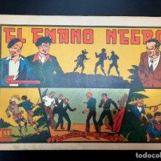 Tebeos: JULIO Y RICARDO (1942, VALENCIANA) 19 · 1943 · EL ENANO NEGRO. Lote 223551940