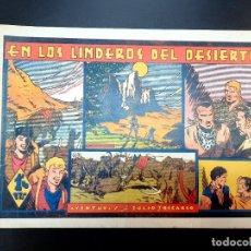 Tebeos: JULIO Y RICARDO (1942, VALENCIANA) 6 · 1943 · EN LOS LINDEROS DEL DESIERTO. Lote 223552135