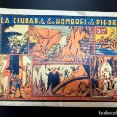 Tebeos: JULIO Y RICARDO (1942, VALENCIANA) 8 · 1943 · LA CIUDAD DE LOS HOMBRES DE PIEDRA. Lote 223552346