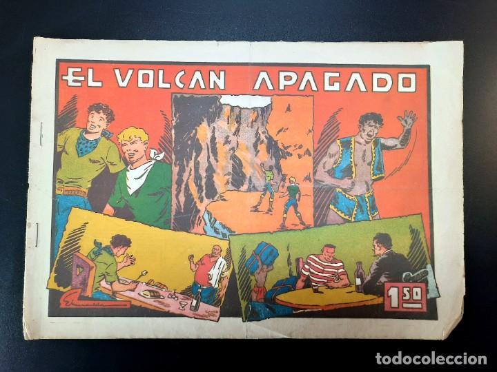 JULIO Y RICARDO (1942, VALENCIANA) 17 · 1943 · EL VOLCAN APAGADO (Tebeos y Comics - Grafidea - Otros)