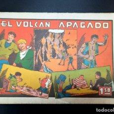 Tebeos: JULIO Y RICARDO (1942, VALENCIANA) 17 · 1943 · EL VOLCAN APAGADO. Lote 223552512