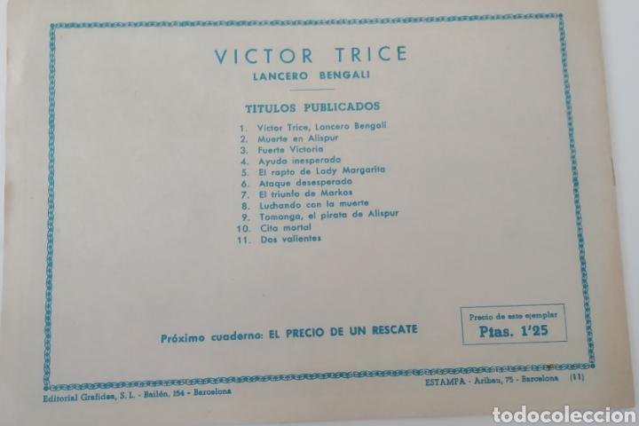 Tebeos: Comic Víctor Trice N.11 Editorial Grafides - Foto 4 - 223783823