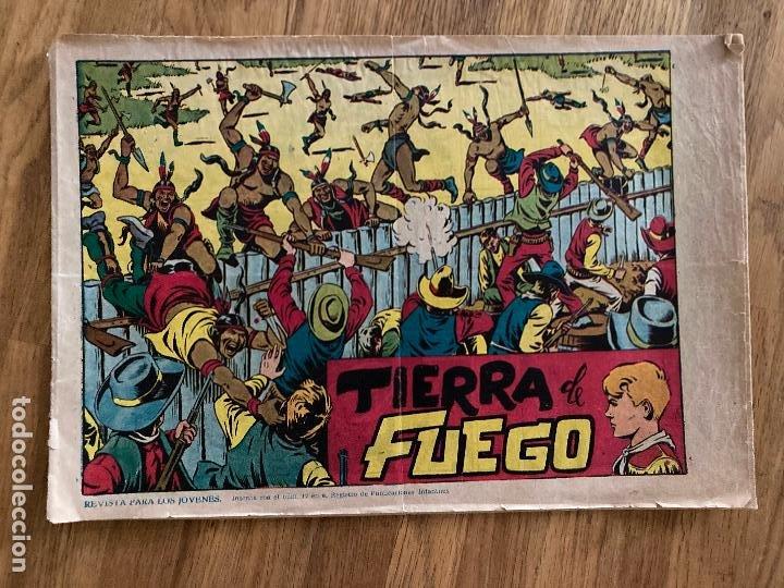 CHISPITA Nº 19 - TIERRA DE FUEGO - GRAFIDEA / ORIGINAL - GCH1 (Tebeos y Comics - Grafidea - Chispita)