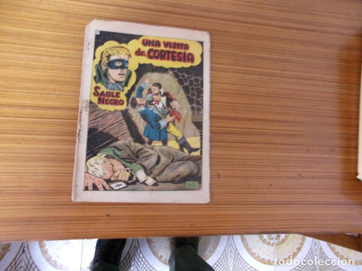 SABLE NEGRO Nº 4 EDITA GRAFIDEA (Tebeos y Comics - Grafidea - Otros)