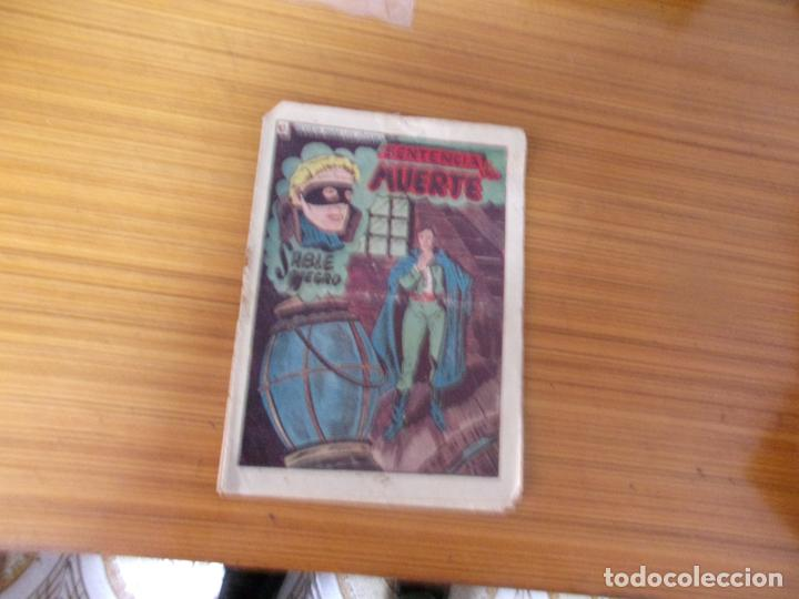 SABLE NEGRO Nº 13 EDITA GRAFIDEA (Tebeos y Comics - Grafidea - Otros)
