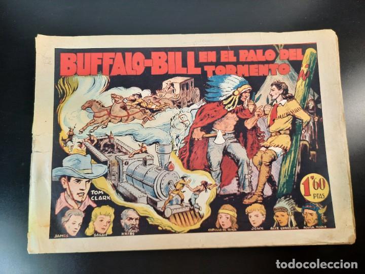 TOM CLARK (1945, GRAFIDEA) 3 · 1945 · BUFFALO BILL EN EL PALO DEL TORMENTO (Tebeos y Comics - Grafidea - Otros)