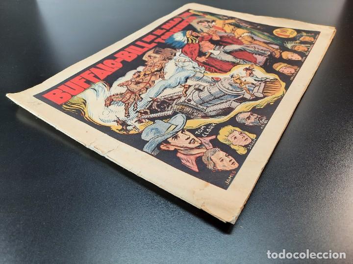 Tebeos: TOM CLARK (1945, GRAFIDEA) 3 · 1945 · BUFFALO BILL EN EL PALO DEL TORMENTO - Foto 3 - 224810222