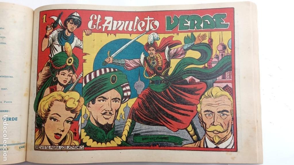 LA CAPITANA Y EL AMULETO VERDE ORIGINALES COMPLETAS, SERIE CHARRO TEMERARIO, MUY BUENAS, VER FOTOS (Tebeos y Comics - Grafidea - Otros)