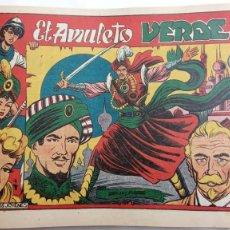 Tebeos: LA CAPITANA Y EL AMULETO VERDE ORIGINALES COMPLETAS, SERIE CHARRO TEMERARIO, MUY BUENAS, VER FOTOS. Lote 224835301