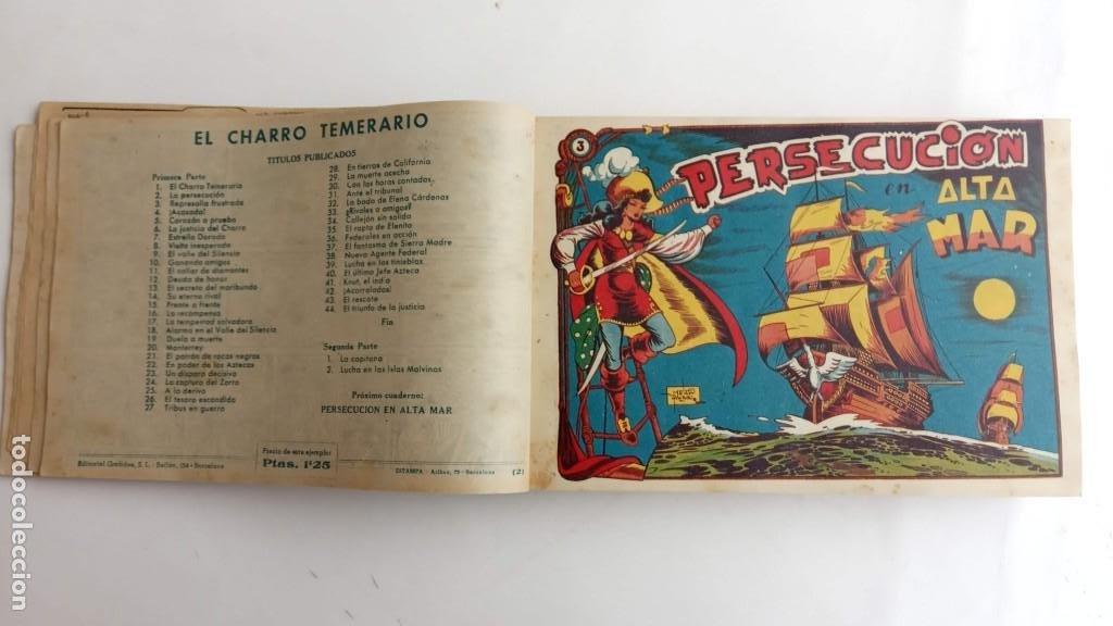 Tebeos: LA CAPITANA Y EL AMULETO VERDE ORIGINALES COMPLETAS, SERIE CHARRO TEMERARIO, MUY BUENAS, VER FOTOS - Foto 14 - 224835301