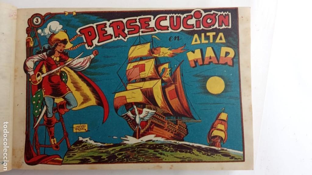 Tebeos: LA CAPITANA Y EL AMULETO VERDE ORIGINALES COMPLETAS, SERIE CHARRO TEMERARIO, MUY BUENAS, VER FOTOS - Foto 15 - 224835301