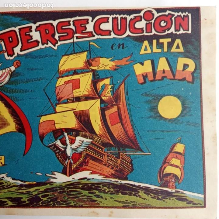 Tebeos: LA CAPITANA Y EL AMULETO VERDE ORIGINALES COMPLETAS, SERIE CHARRO TEMERARIO, MUY BUENAS, VER FOTOS - Foto 16 - 224835301