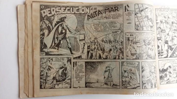 Tebeos: LA CAPITANA Y EL AMULETO VERDE ORIGINALES COMPLETAS, SERIE CHARRO TEMERARIO, MUY BUENAS, VER FOTOS - Foto 17 - 224835301
