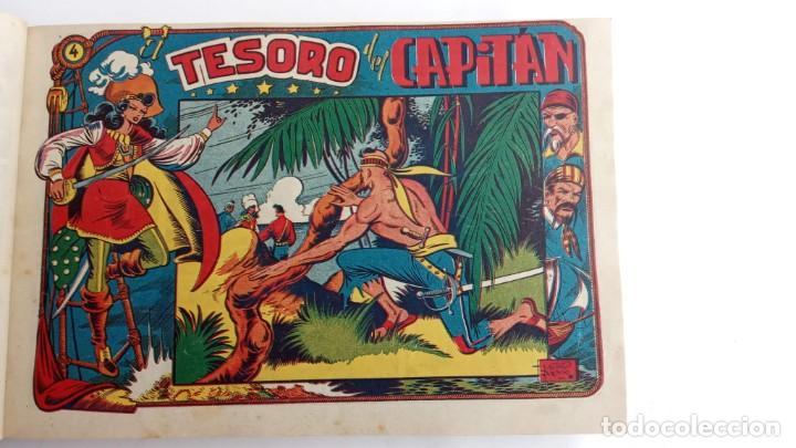 Tebeos: LA CAPITANA Y EL AMULETO VERDE ORIGINALES COMPLETAS, SERIE CHARRO TEMERARIO, MUY BUENAS, VER FOTOS - Foto 19 - 224835301