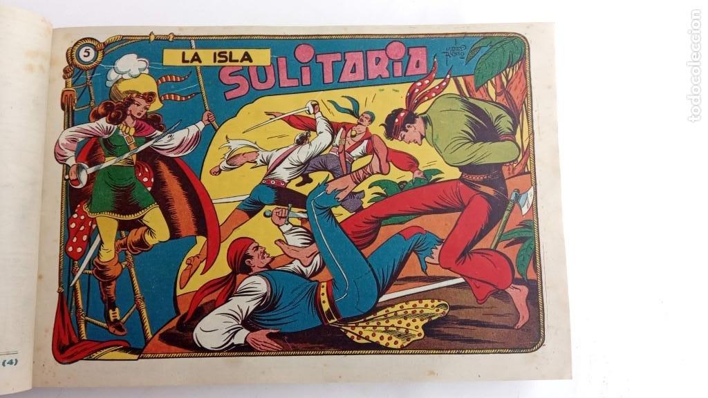 Tebeos: LA CAPITANA Y EL AMULETO VERDE ORIGINALES COMPLETAS, SERIE CHARRO TEMERARIO, MUY BUENAS, VER FOTOS - Foto 21 - 224835301