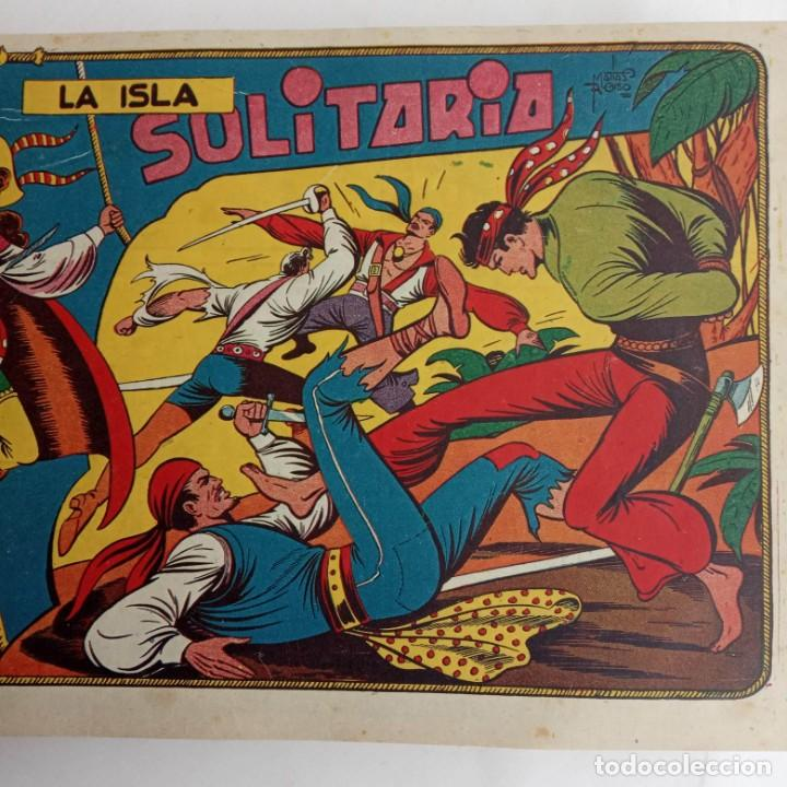 Tebeos: LA CAPITANA Y EL AMULETO VERDE ORIGINALES COMPLETAS, SERIE CHARRO TEMERARIO, MUY BUENAS, VER FOTOS - Foto 22 - 224835301