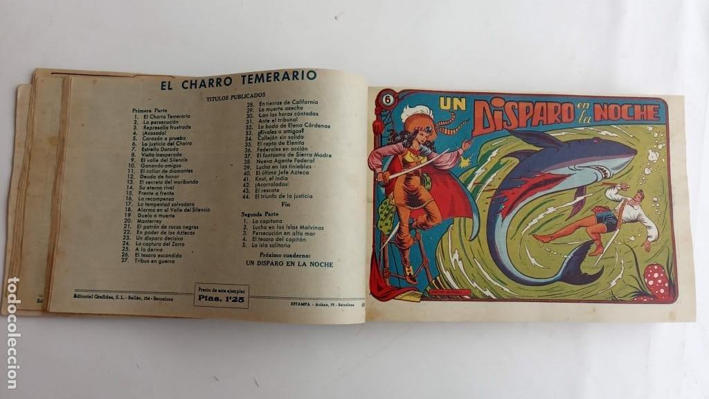 Tebeos: LA CAPITANA Y EL AMULETO VERDE ORIGINALES COMPLETAS, SERIE CHARRO TEMERARIO, MUY BUENAS, VER FOTOS - Foto 24 - 224835301
