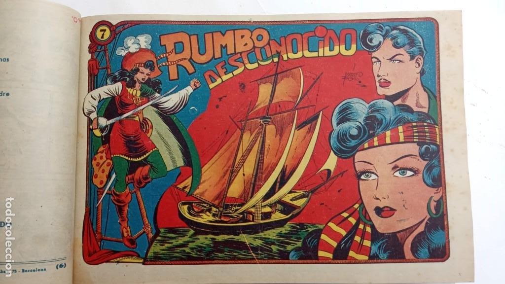 Tebeos: LA CAPITANA Y EL AMULETO VERDE ORIGINALES COMPLETAS, SERIE CHARRO TEMERARIO, MUY BUENAS, VER FOTOS - Foto 29 - 224835301