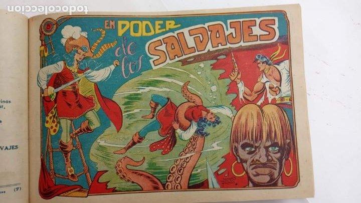 Tebeos: LA CAPITANA Y EL AMULETO VERDE ORIGINALES COMPLETAS, SERIE CHARRO TEMERARIO, MUY BUENAS, VER FOTOS - Foto 32 - 224835301