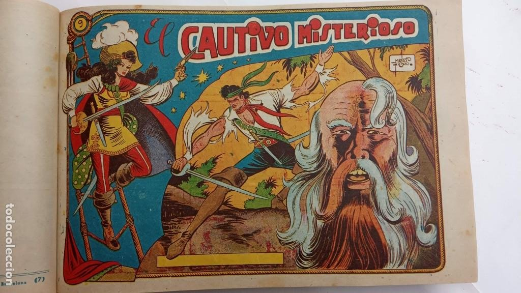 Tebeos: LA CAPITANA Y EL AMULETO VERDE ORIGINALES COMPLETAS, SERIE CHARRO TEMERARIO, MUY BUENAS, VER FOTOS - Foto 37 - 224835301