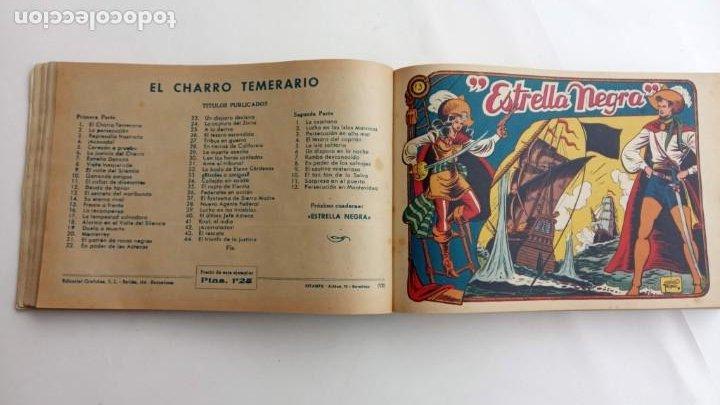 Tebeos: LA CAPITANA Y EL AMULETO VERDE ORIGINALES COMPLETAS, SERIE CHARRO TEMERARIO, MUY BUENAS, VER FOTOS - Foto 51 - 224835301