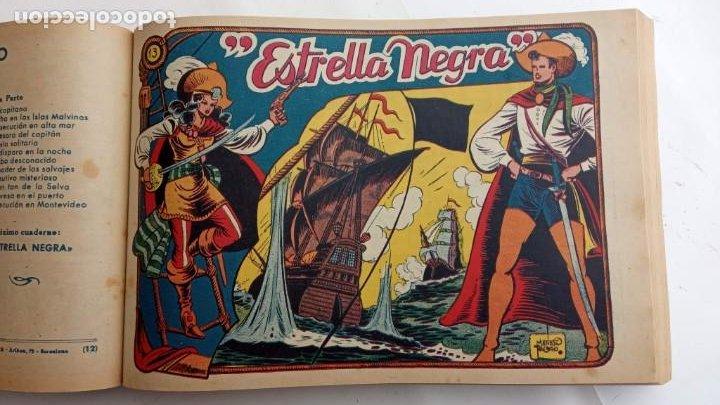Tebeos: LA CAPITANA Y EL AMULETO VERDE ORIGINALES COMPLETAS, SERIE CHARRO TEMERARIO, MUY BUENAS, VER FOTOS - Foto 52 - 224835301