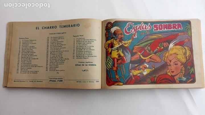Tebeos: LA CAPITANA Y EL AMULETO VERDE ORIGINALES COMPLETAS, SERIE CHARRO TEMERARIO, MUY BUENAS, VER FOTOS - Foto 54 - 224835301