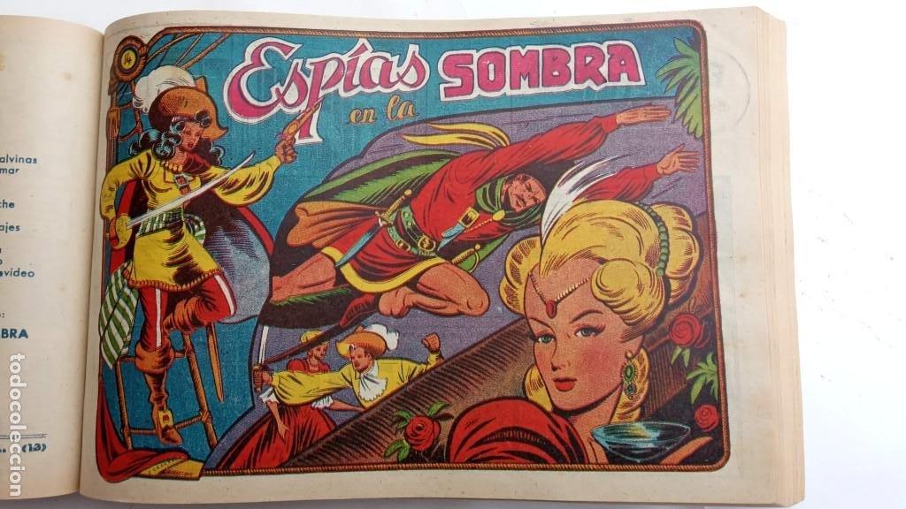 Tebeos: LA CAPITANA Y EL AMULETO VERDE ORIGINALES COMPLETAS, SERIE CHARRO TEMERARIO, MUY BUENAS, VER FOTOS - Foto 55 - 224835301