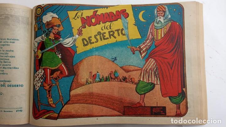 Tebeos: LA CAPITANA Y EL AMULETO VERDE ORIGINALES COMPLETAS, SERIE CHARRO TEMERARIO, MUY BUENAS, VER FOTOS - Foto 61 - 224835301