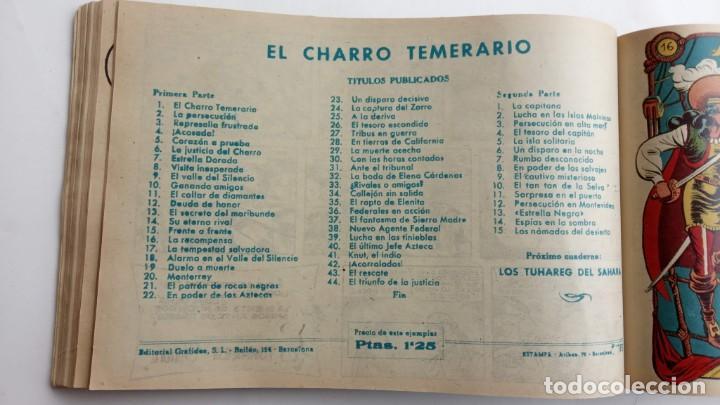 Tebeos: LA CAPITANA Y EL AMULETO VERDE ORIGINALES COMPLETAS, SERIE CHARRO TEMERARIO, MUY BUENAS, VER FOTOS - Foto 64 - 224835301