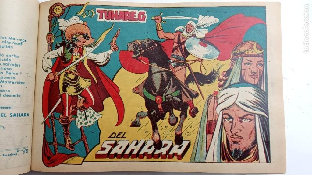 Tebeos: LA CAPITANA Y EL AMULETO VERDE ORIGINALES COMPLETAS, SERIE CHARRO TEMERARIO, MUY BUENAS, VER FOTOS - Foto 65 - 224835301