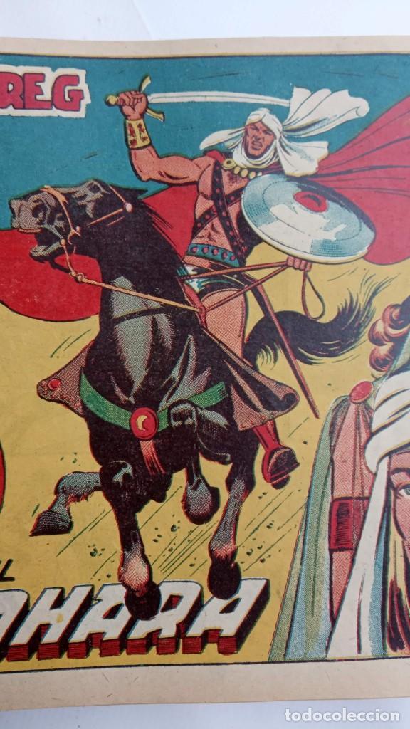 Tebeos: LA CAPITANA Y EL AMULETO VERDE ORIGINALES COMPLETAS, SERIE CHARRO TEMERARIO, MUY BUENAS, VER FOTOS - Foto 66 - 224835301