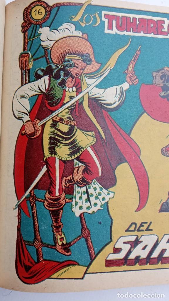 Tebeos: LA CAPITANA Y EL AMULETO VERDE ORIGINALES COMPLETAS, SERIE CHARRO TEMERARIO, MUY BUENAS, VER FOTOS - Foto 67 - 224835301
