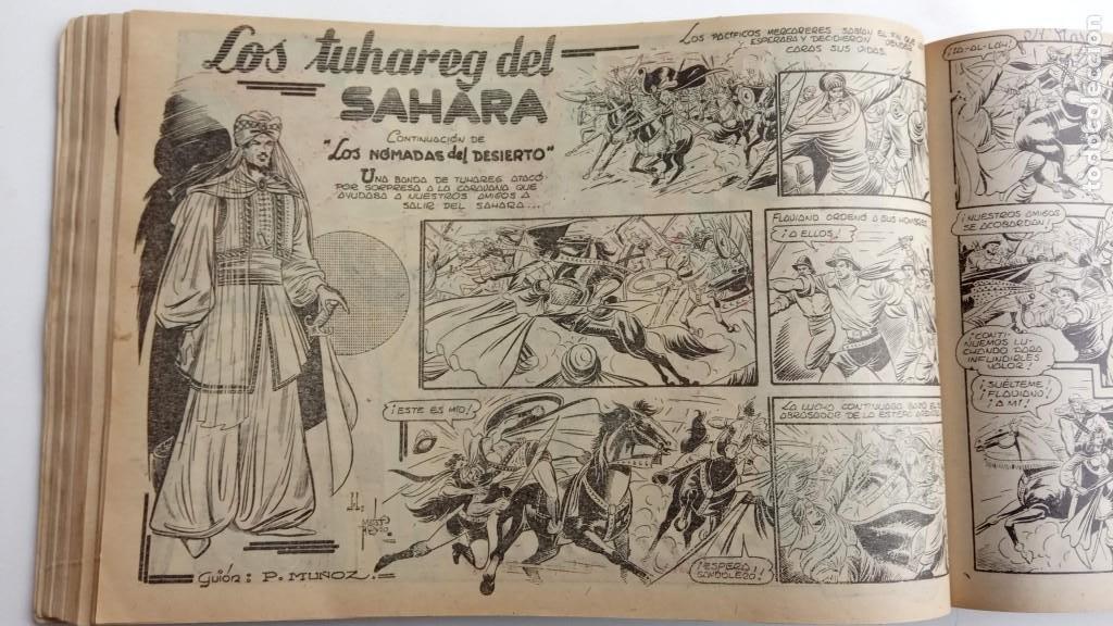 Tebeos: LA CAPITANA Y EL AMULETO VERDE ORIGINALES COMPLETAS, SERIE CHARRO TEMERARIO, MUY BUENAS, VER FOTOS - Foto 68 - 224835301