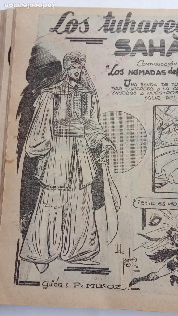 Tebeos: LA CAPITANA Y EL AMULETO VERDE ORIGINALES COMPLETAS, SERIE CHARRO TEMERARIO, MUY BUENAS, VER FOTOS - Foto 69 - 224835301