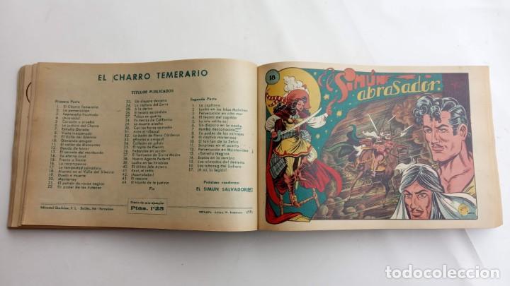 Tebeos: LA CAPITANA Y EL AMULETO VERDE ORIGINALES COMPLETAS, SERIE CHARRO TEMERARIO, MUY BUENAS, VER FOTOS - Foto 74 - 224835301