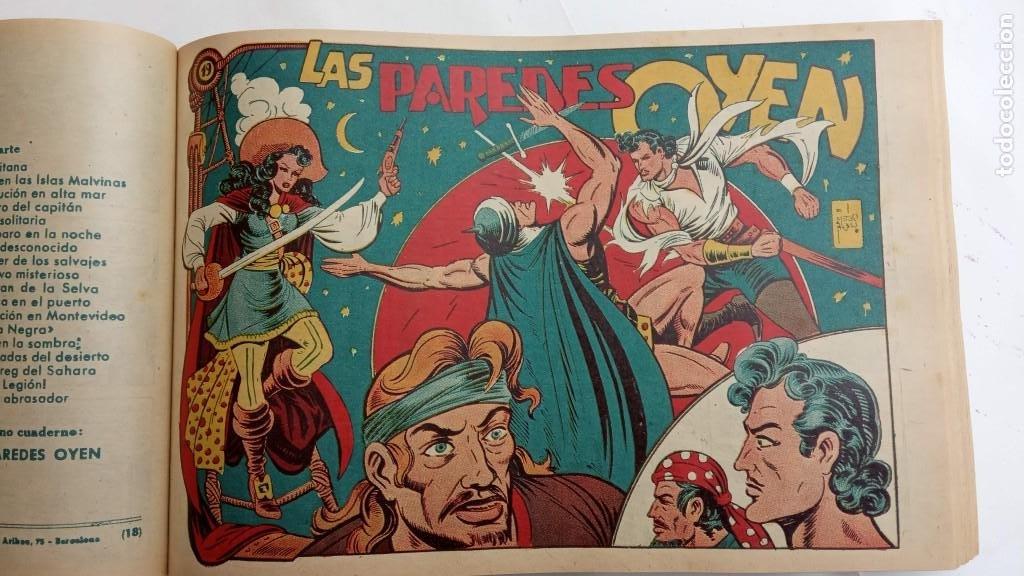 Tebeos: LA CAPITANA Y EL AMULETO VERDE ORIGINALES COMPLETAS, SERIE CHARRO TEMERARIO, MUY BUENAS, VER FOTOS - Foto 79 - 224835301