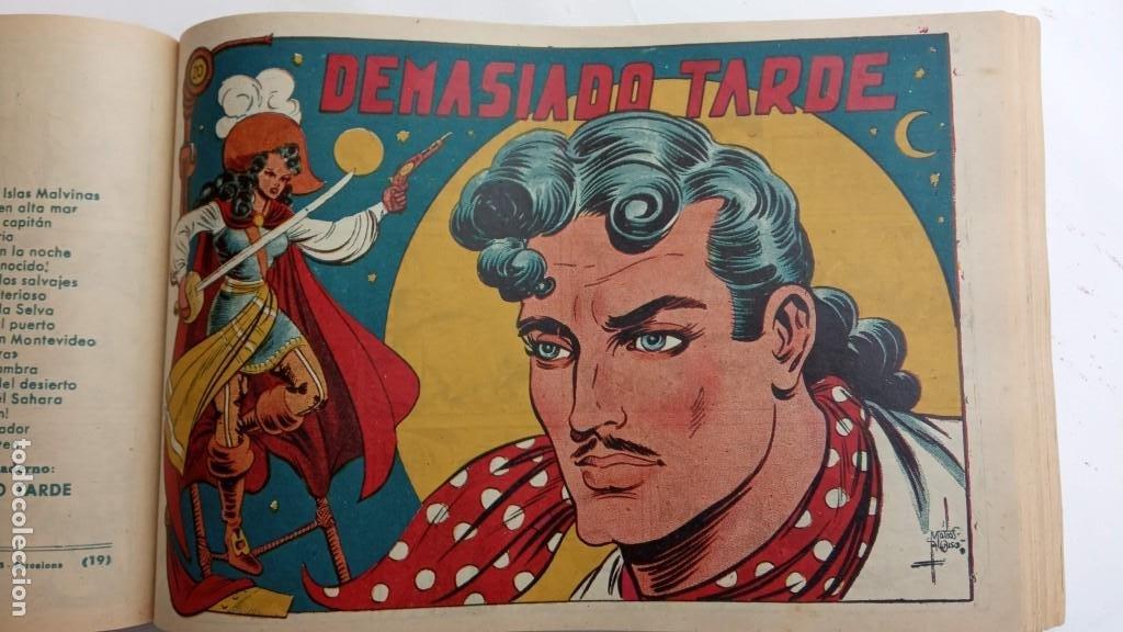 Tebeos: LA CAPITANA Y EL AMULETO VERDE ORIGINALES COMPLETAS, SERIE CHARRO TEMERARIO, MUY BUENAS, VER FOTOS - Foto 81 - 224835301