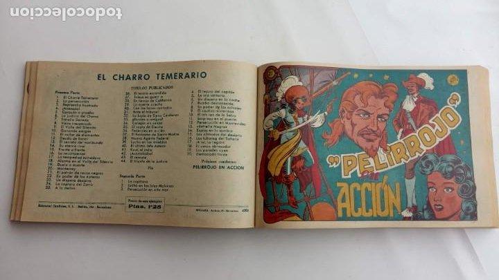 Tebeos: LA CAPITANA Y EL AMULETO VERDE ORIGINALES COMPLETAS, SERIE CHARRO TEMERARIO, MUY BUENAS, VER FOTOS - Foto 82 - 224835301