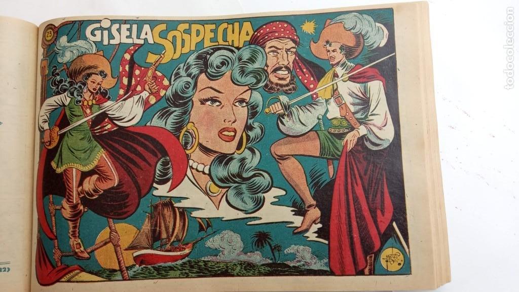 Tebeos: LA CAPITANA Y EL AMULETO VERDE ORIGINALES COMPLETAS, SERIE CHARRO TEMERARIO, MUY BUENAS, VER FOTOS - Foto 86 - 224835301