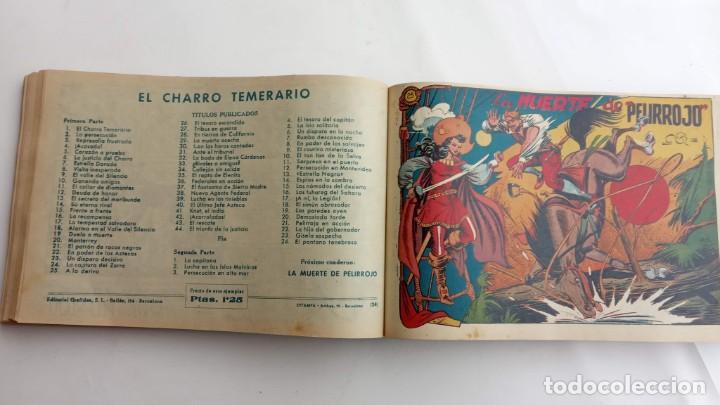 Tebeos: LA CAPITANA Y EL AMULETO VERDE ORIGINALES COMPLETAS, SERIE CHARRO TEMERARIO, MUY BUENAS, VER FOTOS - Foto 91 - 224835301