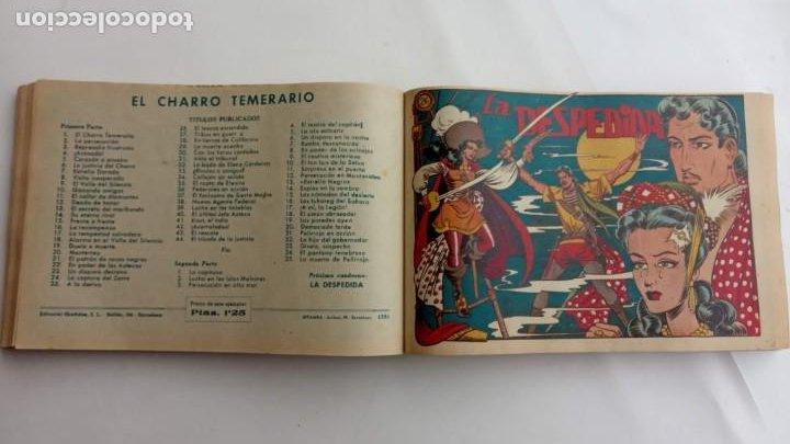 Tebeos: LA CAPITANA Y EL AMULETO VERDE ORIGINALES COMPLETAS, SERIE CHARRO TEMERARIO, MUY BUENAS, VER FOTOS - Foto 94 - 224835301