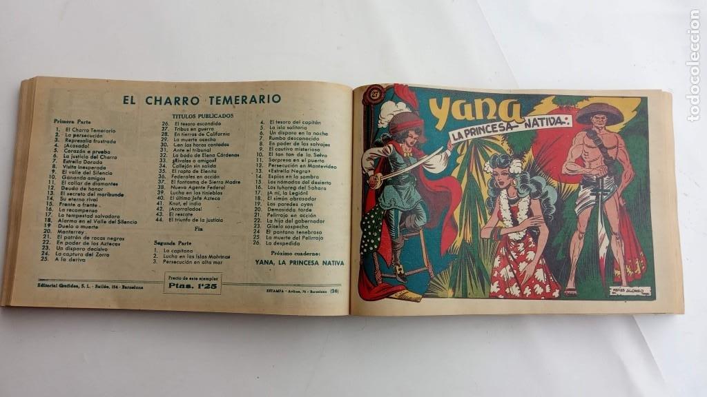 Tebeos: LA CAPITANA Y EL AMULETO VERDE ORIGINALES COMPLETAS, SERIE CHARRO TEMERARIO, MUY BUENAS, VER FOTOS - Foto 96 - 224835301