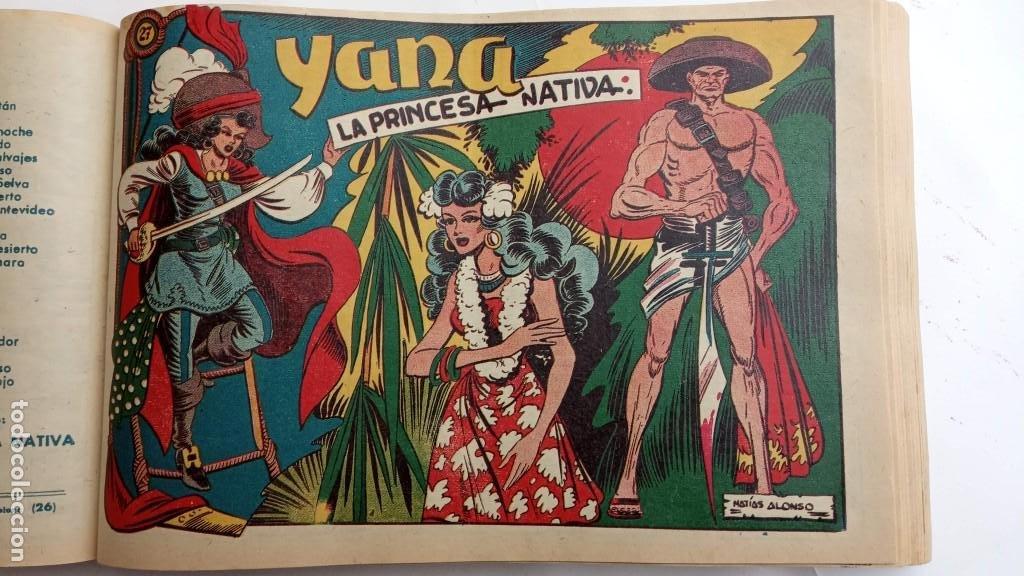 Tebeos: LA CAPITANA Y EL AMULETO VERDE ORIGINALES COMPLETAS, SERIE CHARRO TEMERARIO, MUY BUENAS, VER FOTOS - Foto 97 - 224835301