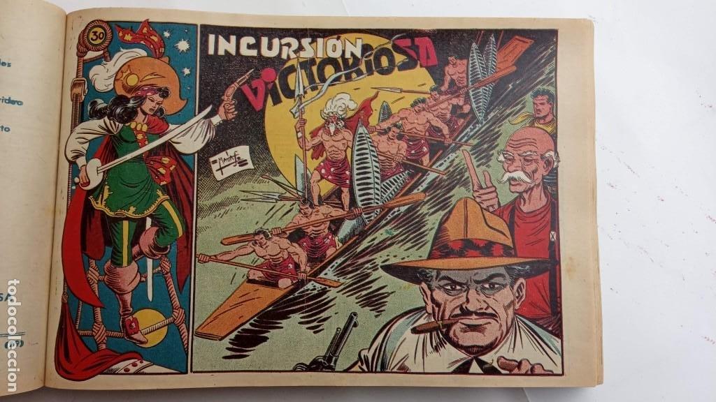 Tebeos: LA CAPITANA Y EL AMULETO VERDE ORIGINALES COMPLETAS, SERIE CHARRO TEMERARIO, MUY BUENAS, VER FOTOS - Foto 102 - 224835301